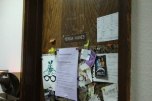 1 - Teresa's Office Door